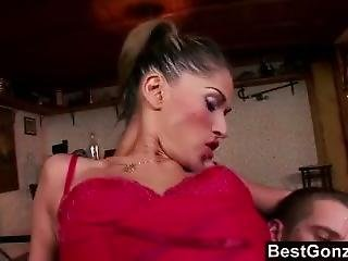 Bestgonzo - Sexy Lingerie And Deep Anal Fucking