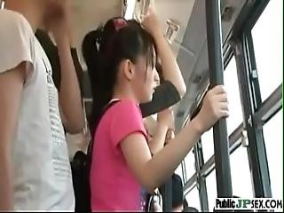 Japanese Groped In Bus