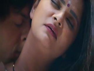 Hot Desi Aunty With Young Boy