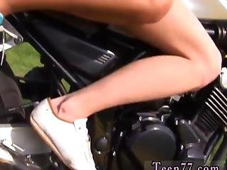 Young Lezzie Biker Girls Love To Play With The Pussy