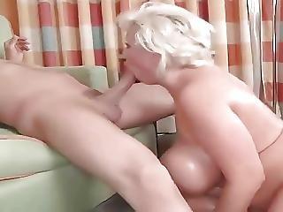 Fake Tits Slut Fucked Hard In The Ass