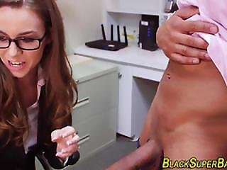 Office Slut Suck Black