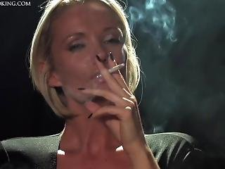 Lucy Zara - Elegant Smoking