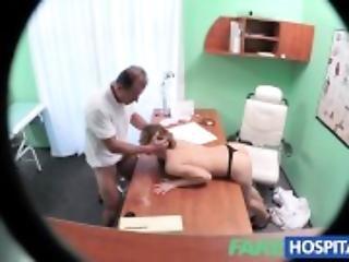 FakeHospital Nurse fucks doctor for pay rise
