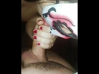 She Makes Me Cum So Hard In Her Mouth With A Huge Load