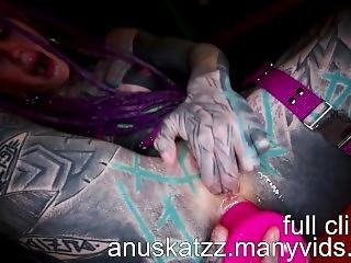 Anuskatzz Sextape Compilation 2.0 - Heavily Tattooed Modified Dreadgirl
