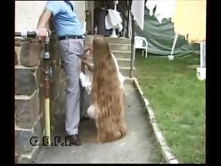 Long Hair Suck Grandpa