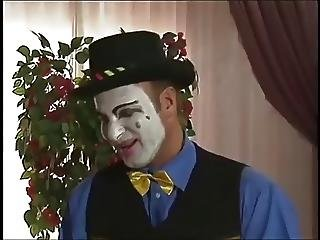 Clown Fucks A Pierced Girl With Latex Boots