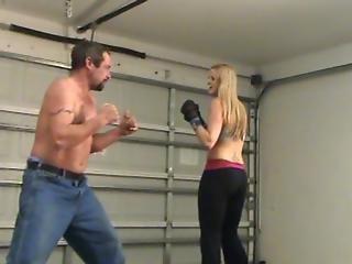 Brutal, Femdom, Sport, Wrestling