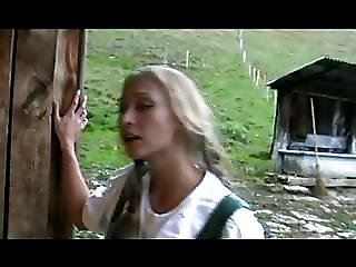 Babe, Barn, Fucking, German, Lesbian, Teen, Young