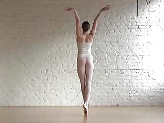 Ballerina, Brunett, Naken, Sport, Swinger