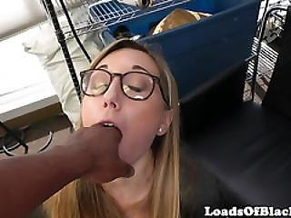 Spex Casting Babe Doggystyled On The Floor