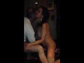 Lover Makes 60 Y/o Hot Wife Cum With Finger Fuck While Hubby Watches