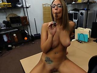 Layla London Loves Pawndudes Big Cock Inside Her Tight Pussy