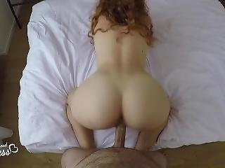Introducing The Redhead Princess, First Time On Video