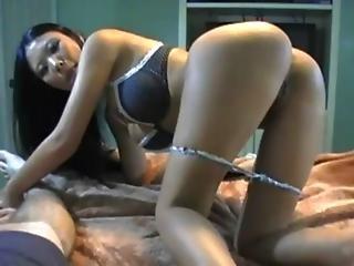 Asian Girl Ride Stiff Cock