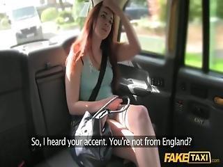 Dutch Girl In English Cab