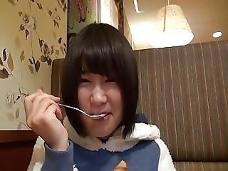 日本人, ミゼット, スクール, 小さなおっぱい, ティーン