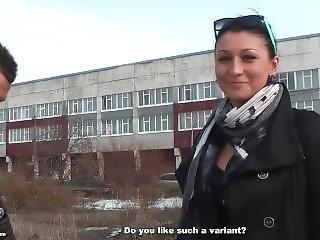 anal, vorsprechen, russisch, dreier