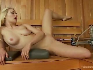 blonde, fétiche, nique, machine à niquer, star du porno, jet de mouille, Ados, jouets
