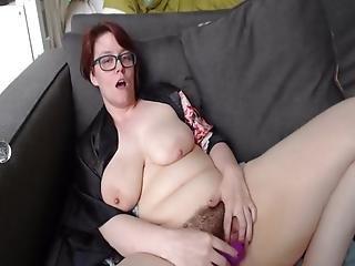 Saggy Mature Tries Clit Sucker Shows Feet Fingers Herself