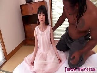 Tiny Japanese Girl Fucked By Huge Black Guy