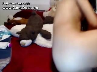 πρωκτικό, Cam Girl, διπλό πρωκτικό, αυνανισμός, διείσδυση, μουνί, Squirt, σφιχτό, Webcam