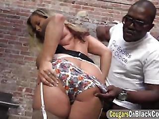 Slutty Blonde Mature Gets Banged By Prisoner With Bbc