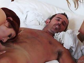 Mena Mason Lauren Phillips Share A Cock
