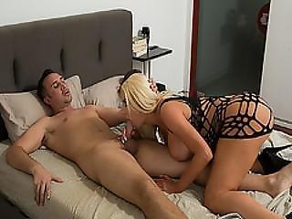 Nicolette Shea Blowjob Keiran Lees Thick Cock