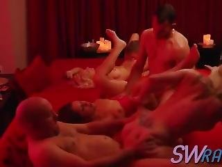 Swingers Talk About Switching Partners In Group Sex