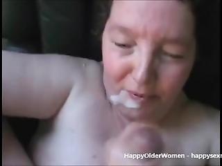 Cum On Granny - Amateur Homemade