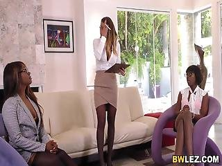 Brooklyn Chase Ana Foxxx Skyler Nicole Zebra Girls