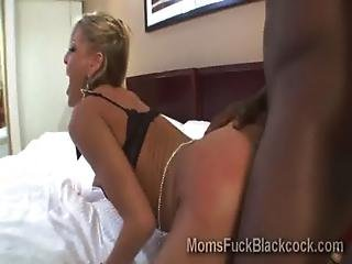 Booty Milf Loves To Be Stretched By A Huge Piece Of Black Meat