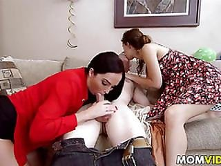 Stedaughter Jade Nile Bangs Bf With Bianca Breeze