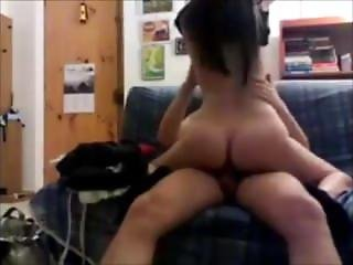 Sexy Milf Fucks Sons Friend - Rides Young Cock
