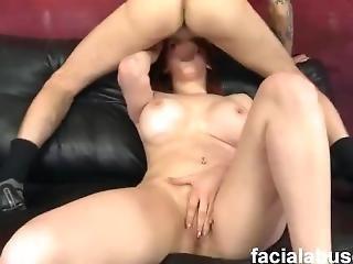 Sisterhood Of Gagging Rainiabelle Big Titted Redhead Skank