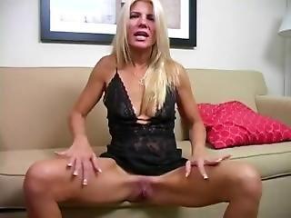 Masturbating With Step Mommy