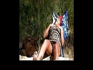 Orgasm On The Beach