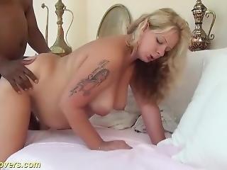 Sexy Blonde Pregnant Teen Enjoys Bbc