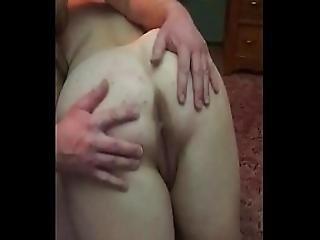 Naughty Slut Milf Wife Receives Her First Otk Bare Ass Spanking