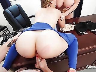 Teaches Sara Maggie Fuck Bad Student Kimber In Threesome
