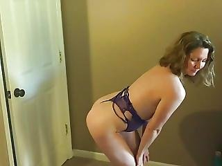 Slut Wife Becky Moans For Camera