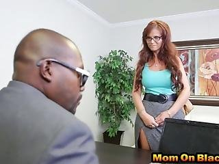 Angry Milf Arrives At Office Trying To Discuss Something She Doesnt Agree With Later Ends Up Double Penetrated By  Massive Bbc