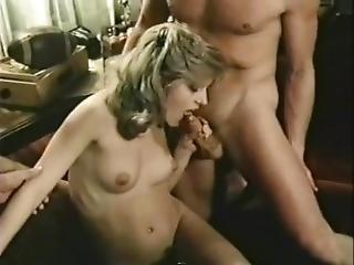 Desiree Lane Dp With Nick Niter And Shone Taylor From Educating Eva(1985)