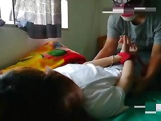 Asian Teen Girl Feet Tickled