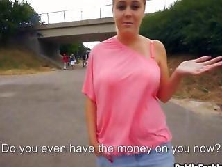 Czech Slut Has Some Nice Ripe Boobs To Expose