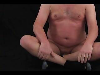 Undress Curling Toes Butt Plug Orgasm Purple Dick Head
