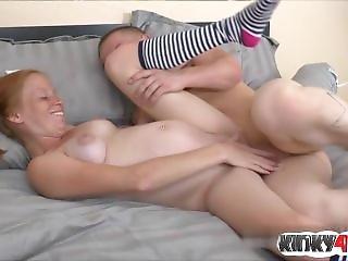 Redhead Pregnant Sex And Cumshot