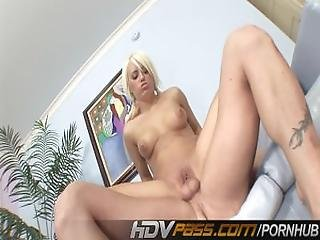 Hdvpass Blonde Hoe Fucks Herself Silly%21